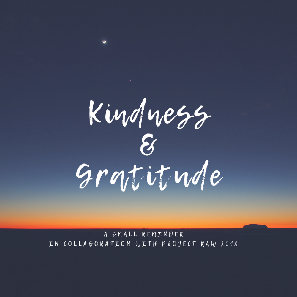 Kindness + Gratitude - Oh My Marr