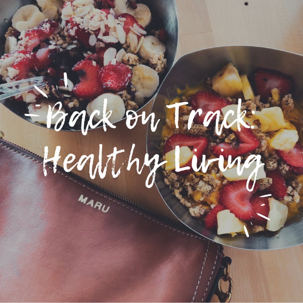 Back on Track: Healthy Living - Oh My Marr