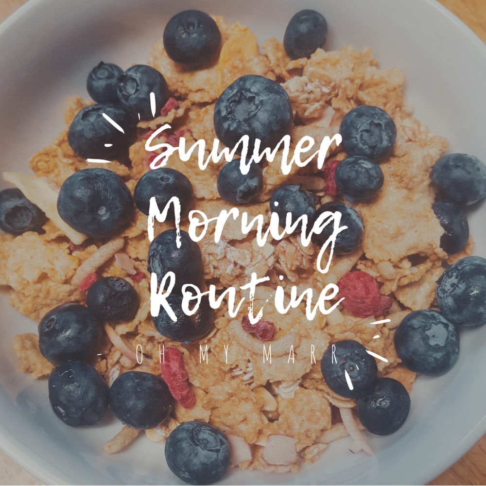 Summer Morning Routine 2018 - OH MY MARR