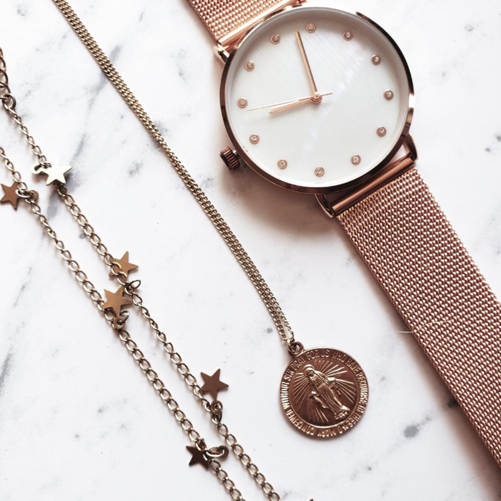 Rose Gold Watch (Francesca's)
