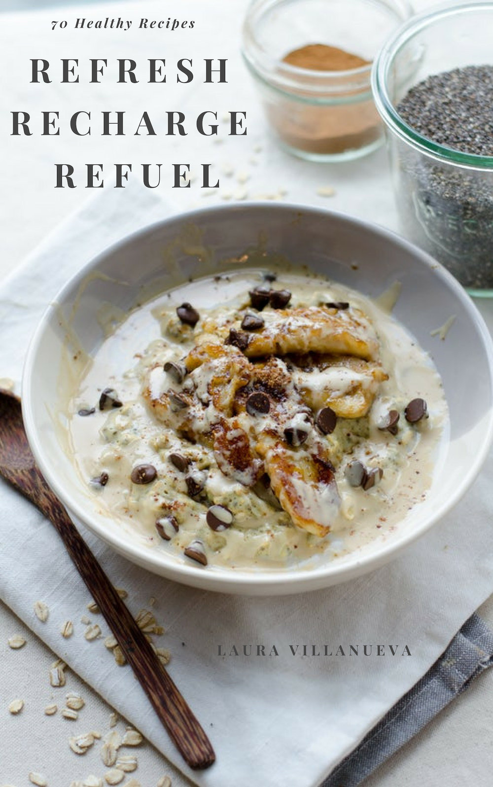 REFRESH RECHARGE   REFUEL - It's finally here. My Ebook and paperback. REFRESH-RECHARGE-REFUEL is now available for purchase. I put a lot of hard work into writing this recipe book for you.