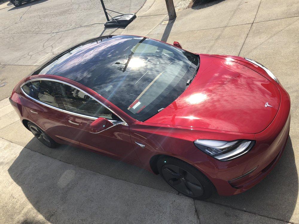 2018 Tesla Model 3 Red Detailership