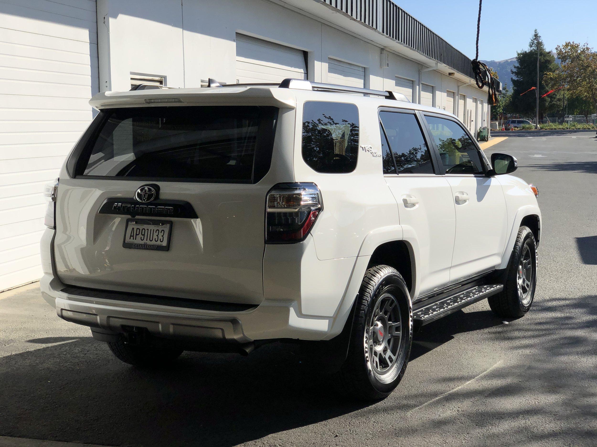 2019 Toyota 4runner Trd Offroad Super White Detailership