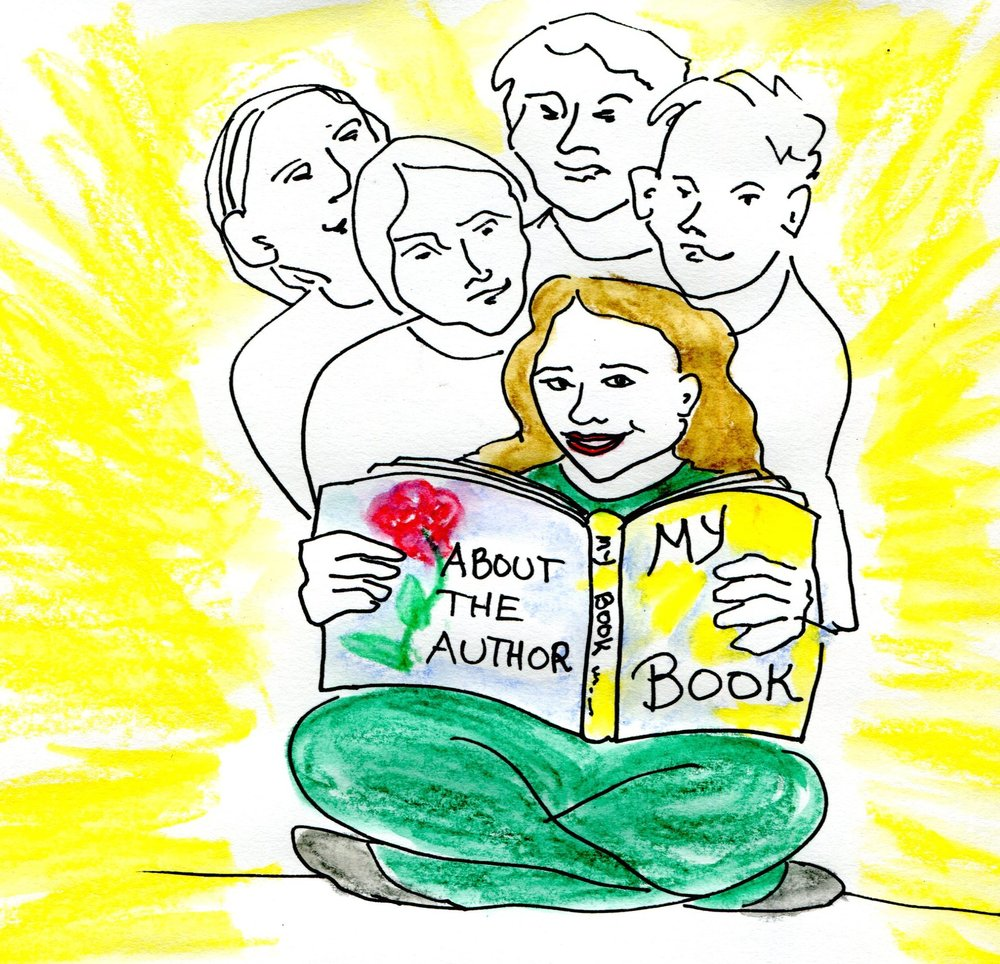 self-publishing mentoring, ILLUSTRATION BY NAOMI ROSE
