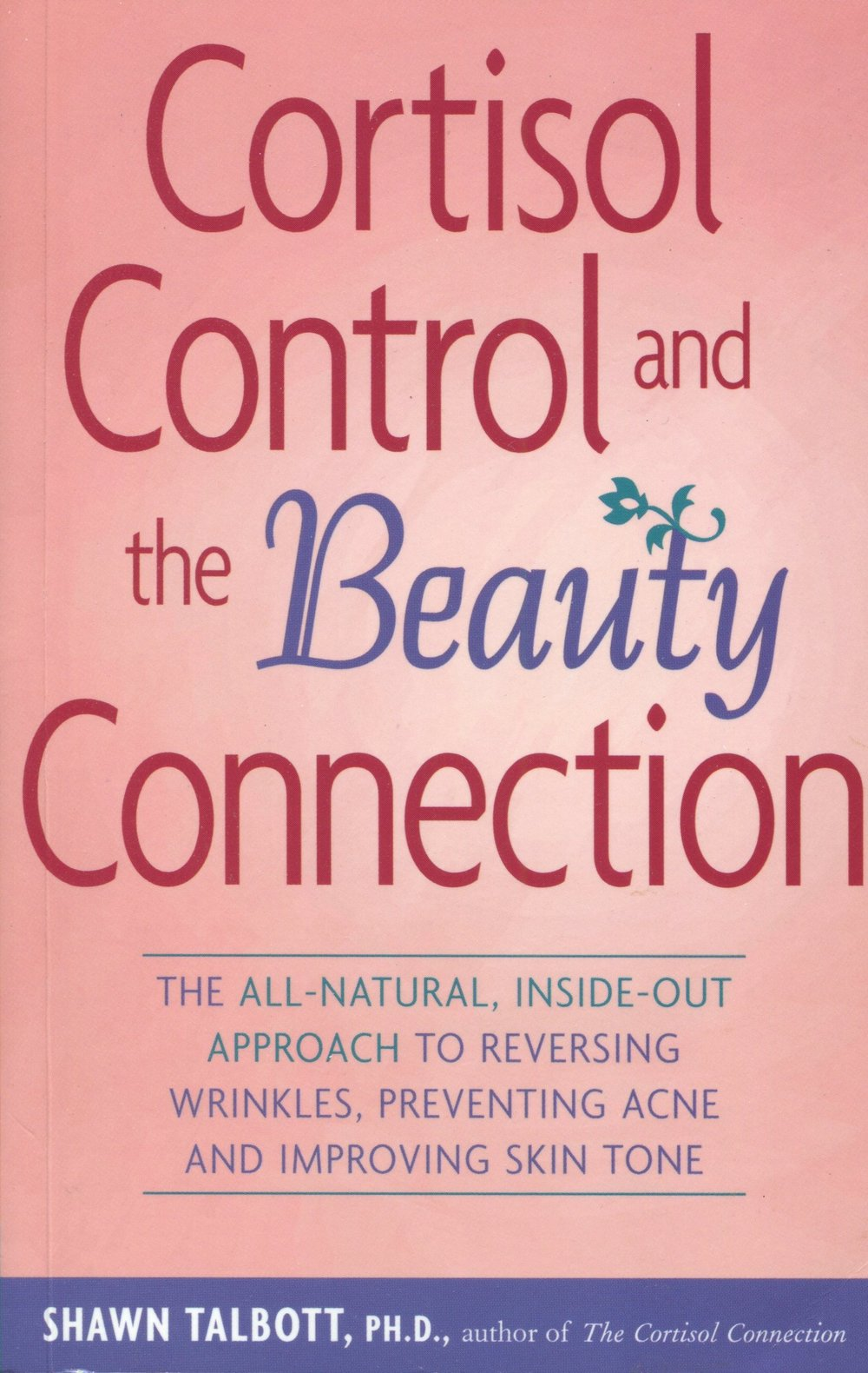 Cortisol Control & the Beauty Connection, front cover.jpg