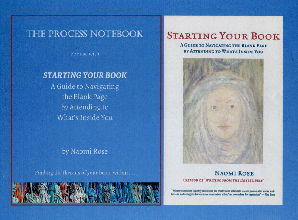 "the process notebook: For use with ""starting your book,"" by naomi rose"