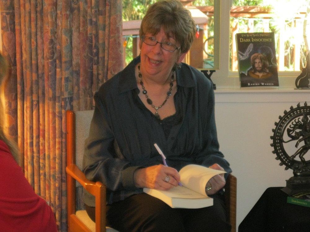 Rahima Warren, Dark Innocence book signing.JPG