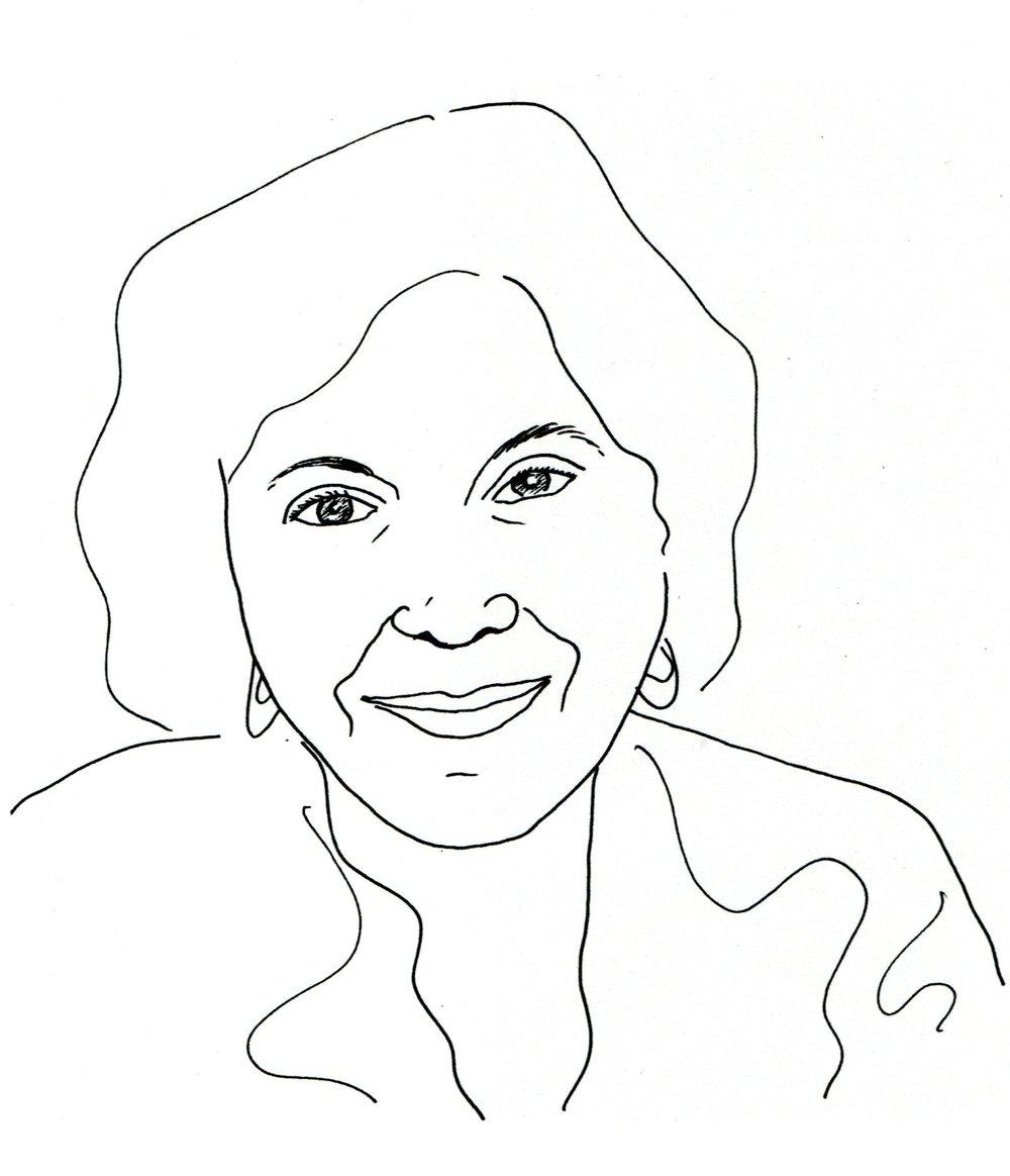 Naomi rose, self-portrait