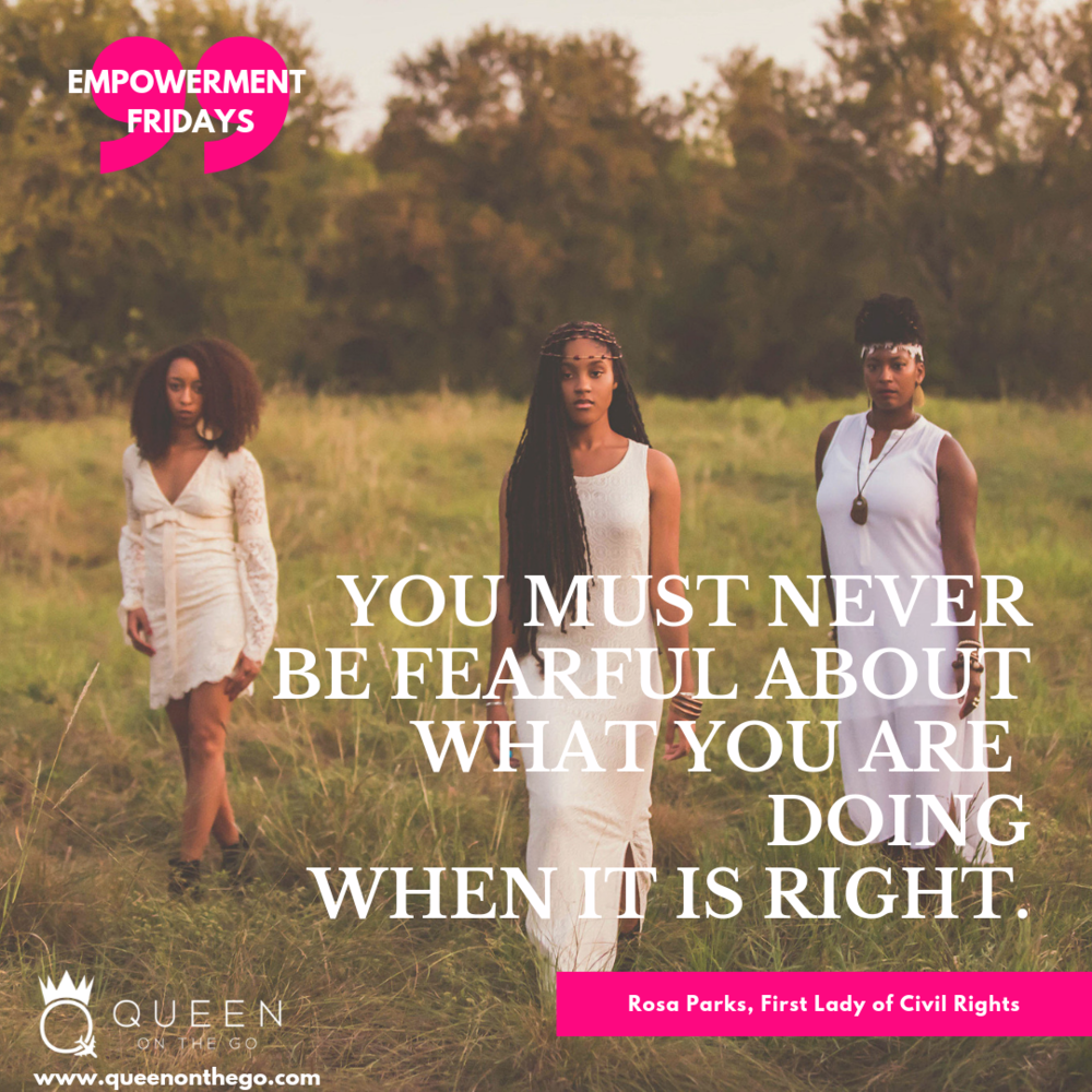 - Empowerment Fridays features an empowering quote that aids in finishing the week and having a productive mindset