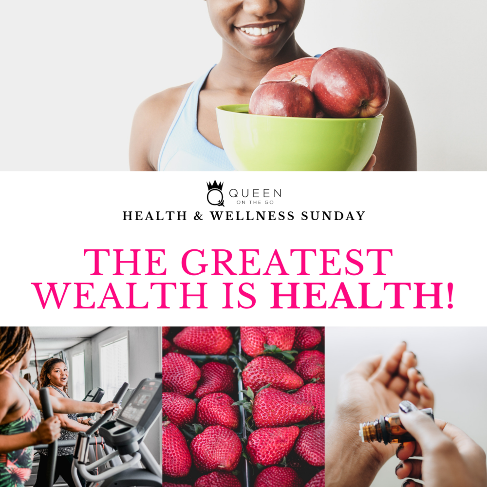 - Health & Wellness Sundays will provide information and quick tips that we can incorporate to live healthier lives.