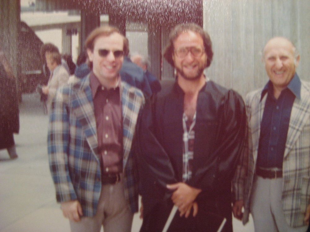 The Plaid Schorrmen.   At my dad's college graduation.   1975. Obviously.