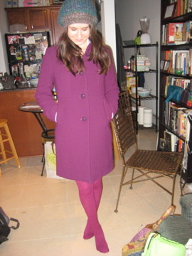 """""""Hi Grimace! Nice outfit.""""   """"Thanks, Katie! You too."""""""