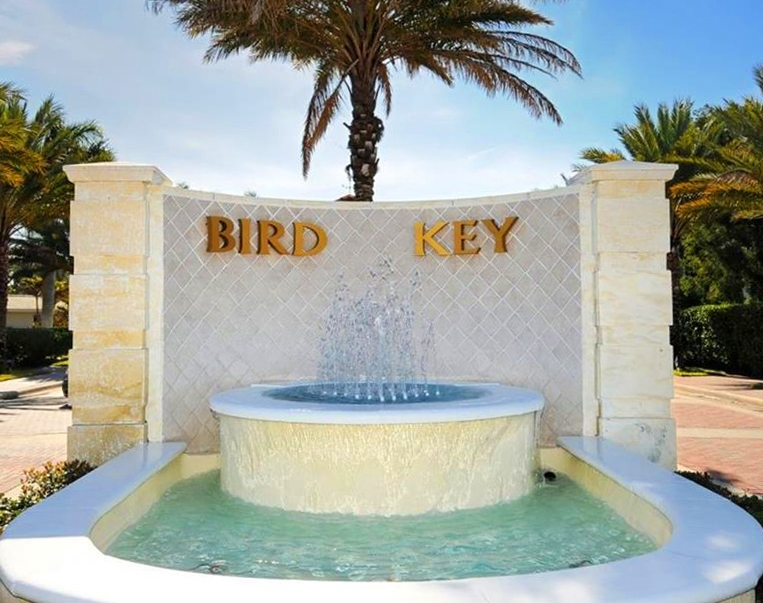 SOLD:  Land and new build on Bird Key, Sarasota. $3,250,000