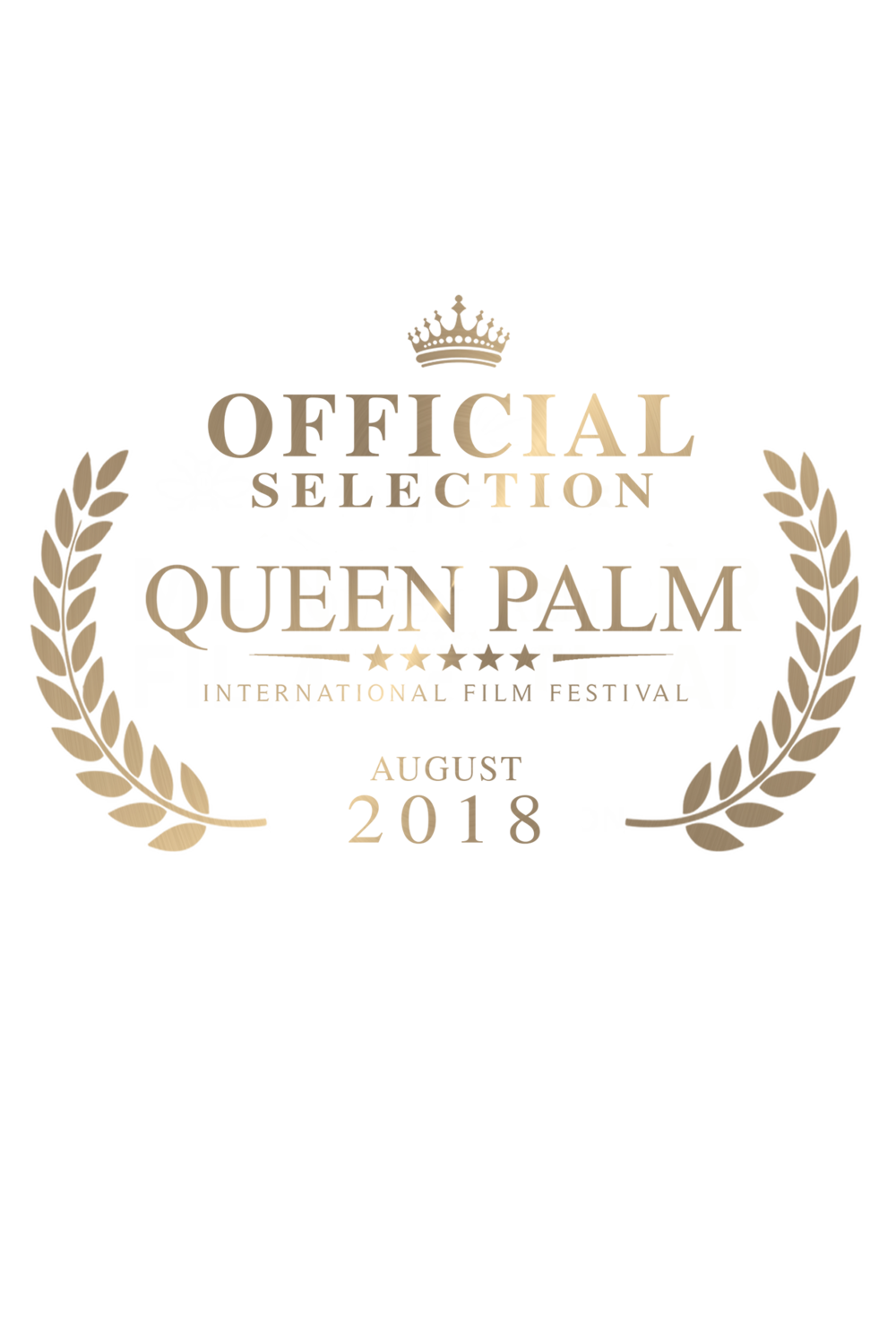 QPIFF Official Selection Crown Laurel (GOLD SHIMMER).png