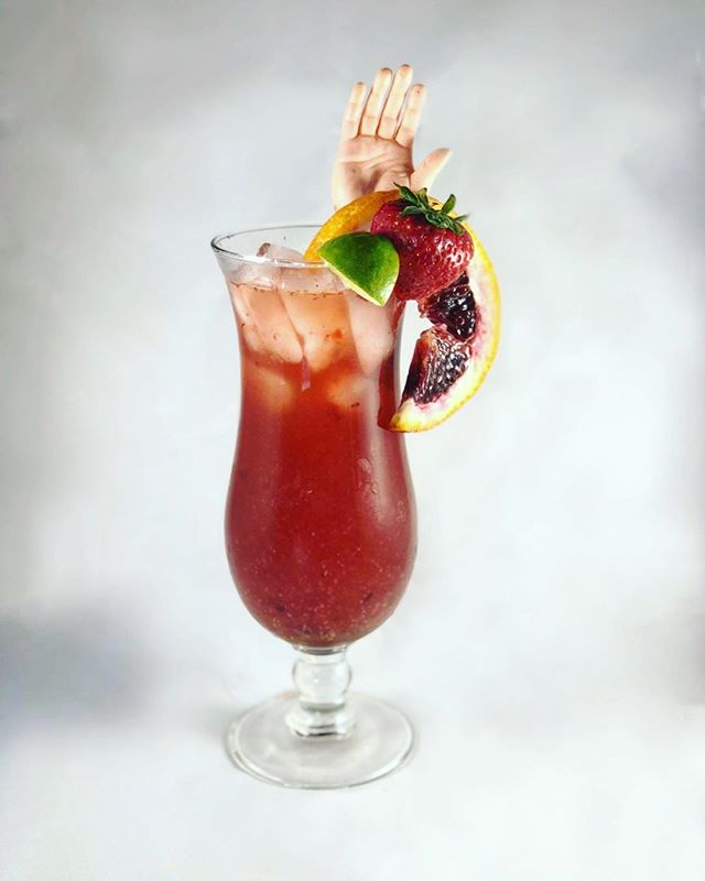 This #thirstythursday, celebrate the long weekend and grab Mikayla's recipe for her Office Killer shocktail, Herricane Dorine by visiting gcbc.show/officekiller (or use the link in our bio). This drink definitely packs a (rum) punch and I'd have to say it's hands down the best Herricane I've ever had. #🖐🏼#🍹 #👻 #🎙 #🦇 #🍸 #boosandbooze #shocktails #cocktails #cocktailporn #herricanes #drank #mixology #rum #rumpunch #thurstythursday #tbt #rumyum #simplesyrup #booze #ghoulcop #officekiller #podcast #gcbc #ghoulcopbatcop