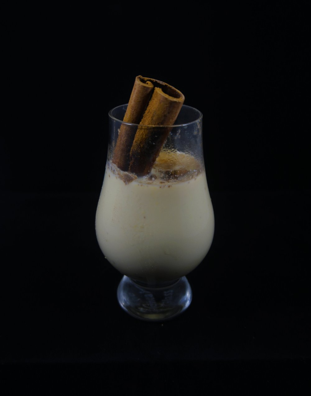 Cormchata - 1 15.25oz can of sweet corn2 cups whole milk2 Tlbs of sugarPinch of kosher saltCinnamon stick3oz amaretto0.75oz arakkuGround cinnamon, to taste Purée corn and 2/3 cup of milk. Transfer to pot and add remaining milk, sugar, salt and cinnamon stick. Bring to boil and simmer 2-3 minutes. Strain. Return to pot and stir in amaretto and arakku. Top with ground cinnamon, to taste.