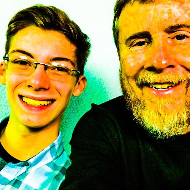 Just playing around with a couple of photos with Nathan Tobey, taken following our video recording session.  Nate and I attend the same church.  I was delighted to help Nate record his video auditions for university acting school submissions.  Terrific future ahead for this promising young actor.