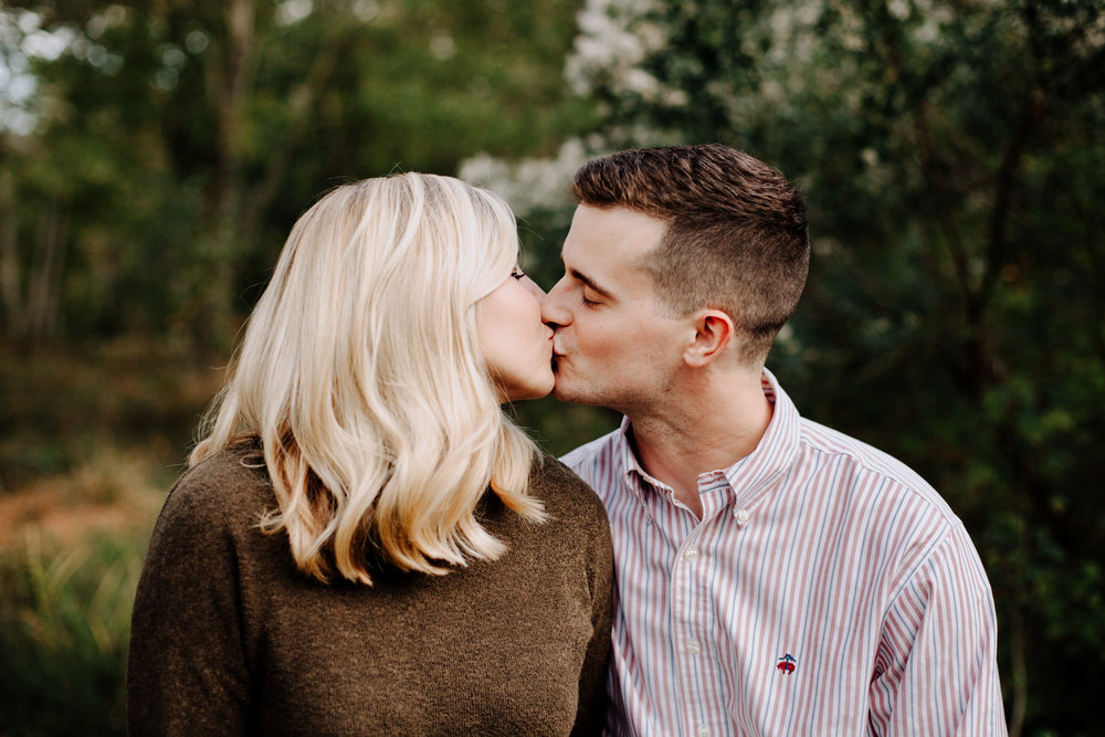 NC Fall Engagement Photo   Raleigh Engagement Session   Fall Outfit Inspiration   Raleigh NC Photographer