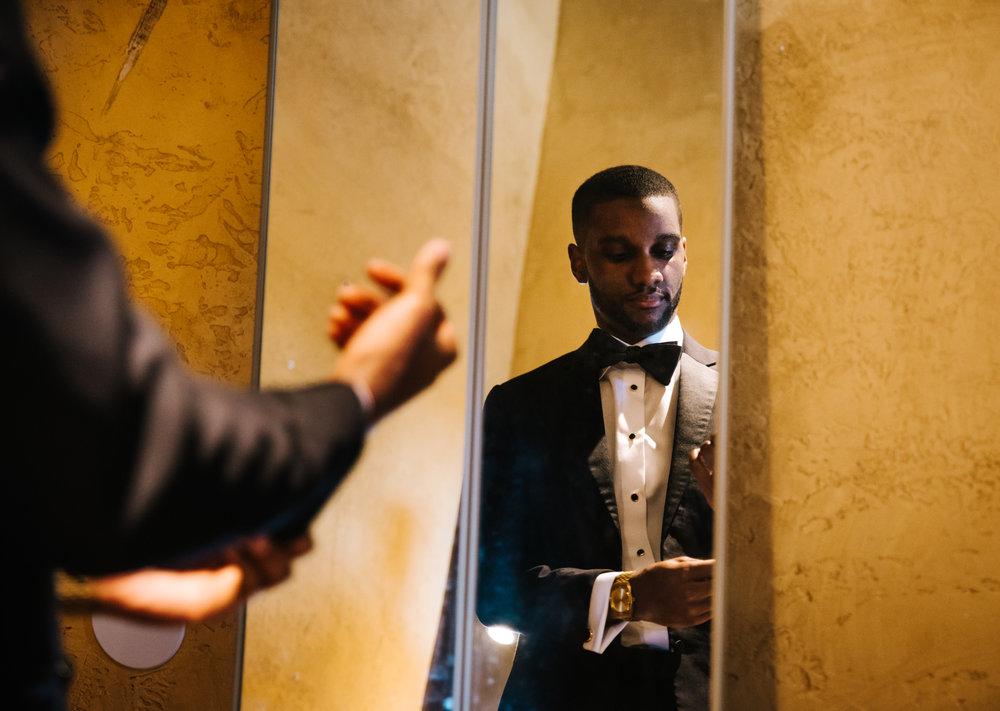 The Lofts at Union Square, High Point, NC. Getting ready photos. North Carolina Wedding Photographer, Marina Rey Photography.
