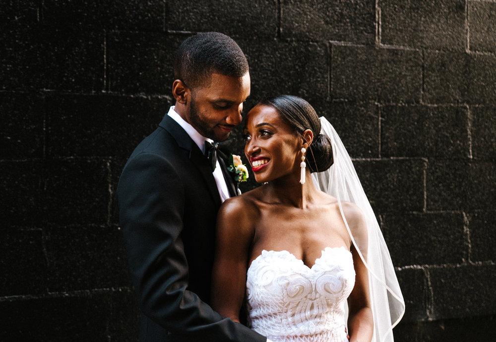 The Lofts at Union Square, High Point, NC. Wedding Photos, Wedding Portraits. North Carolina Wedding Photographer, Marina Rey Photography.