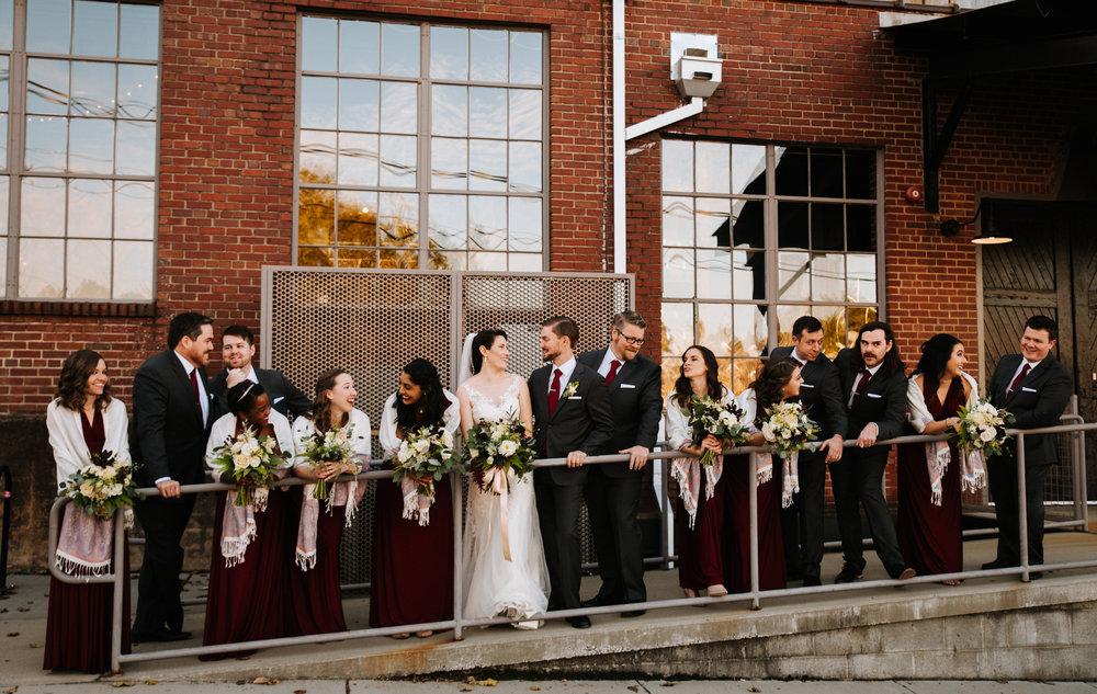 +The Rickhouse +Durham +Wedding +North Carolina +Wedding Photographer +Winter Wedding +Industrial Wedding Venue-1862.jpg