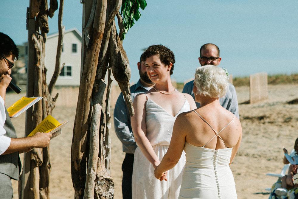 Outer Banks Wedding - Willmington NC Wedding Photographer - NC Wedding Photographer - NC Wedding - Beach Wedding - NC Beach Wedding - LGBTQ+ Wedding - LGBT Wedding - Lesbian Wedding-5116.jpg