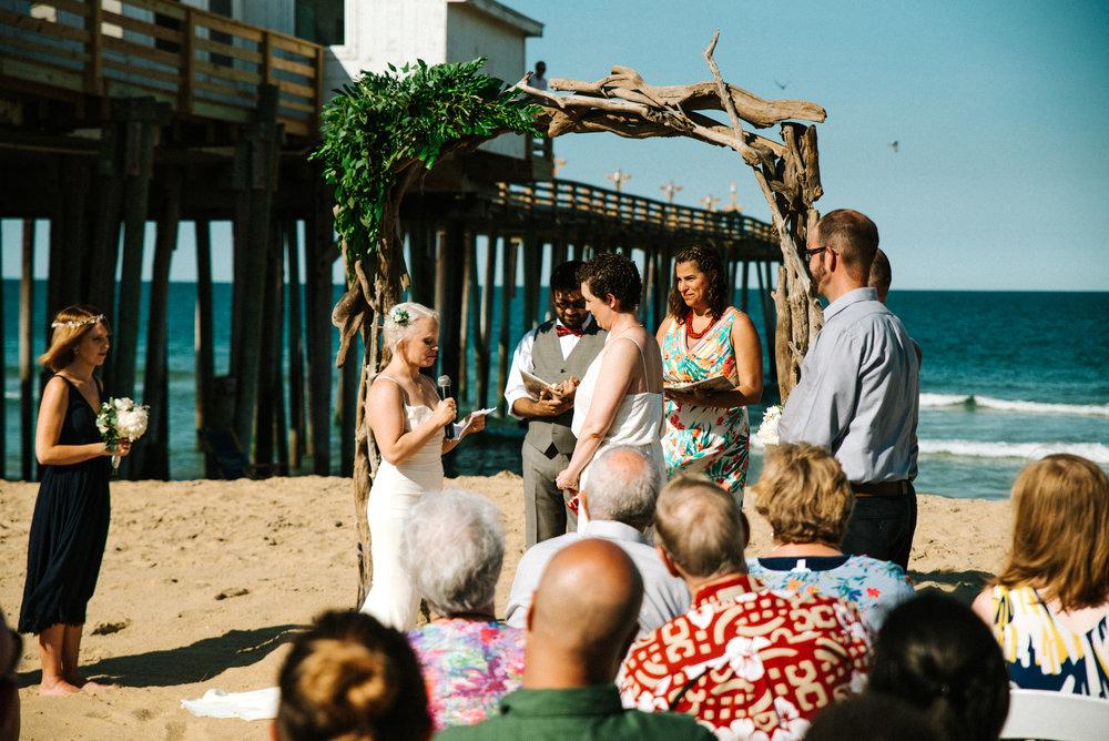 Outer Banks Wedding - Willmington NC Wedding Photographer - NC Wedding Photographer - NC Wedding - Beach Wedding - NC Beach Wedding - LGBTQ+ Wedding - LGBT Wedding - Lesbian Wedding-5167.jpg