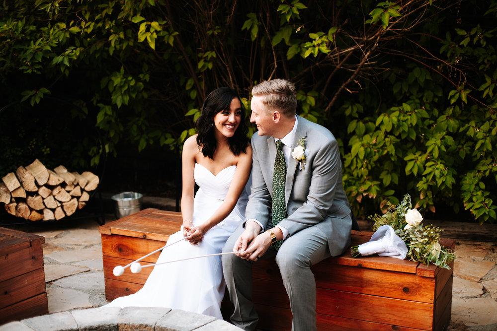 Backyard Wedding in Salt Lake City, Utah