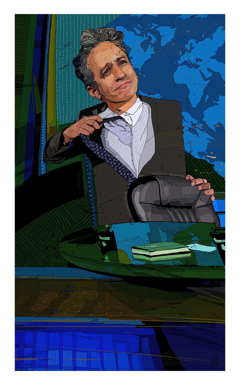 Jon Stewart   for The Washington Post
