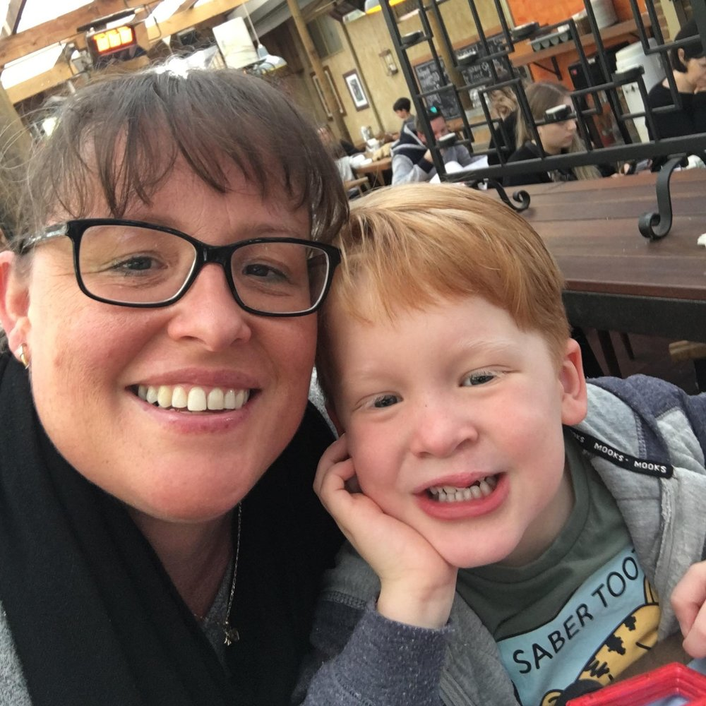 CARMEN BOWLES   Contact Parent Coordinator (NOR) Social Media Coordinator   Carmen has a 4 year old son, Declan, who was born with a unilateral cleft lip. She works part time as a waitress and enjoys camping with her family.