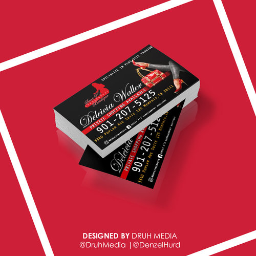Single sided business cards design only druh media logo single sided business cards design only colourmoves