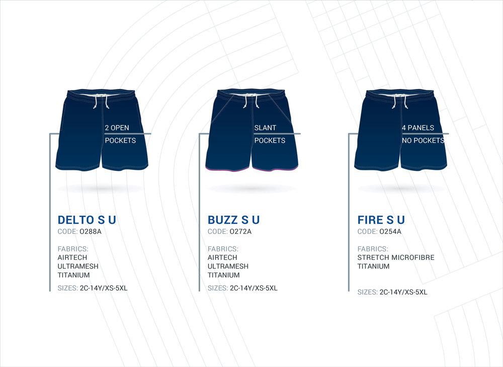 Unisex Multi-Purpose Shorts - Continued
