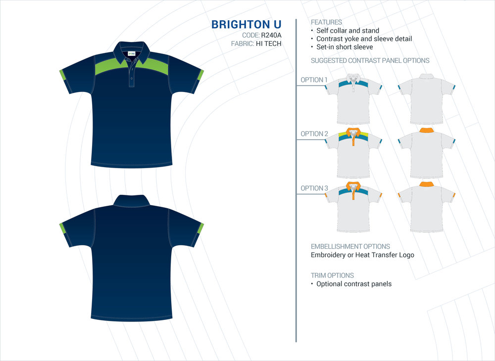 Unisex Brighton Hi-Tech Polo