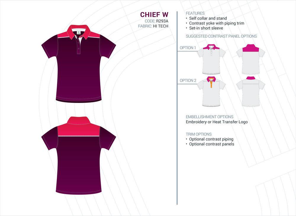 Women's Chief Hi-Tech Polo