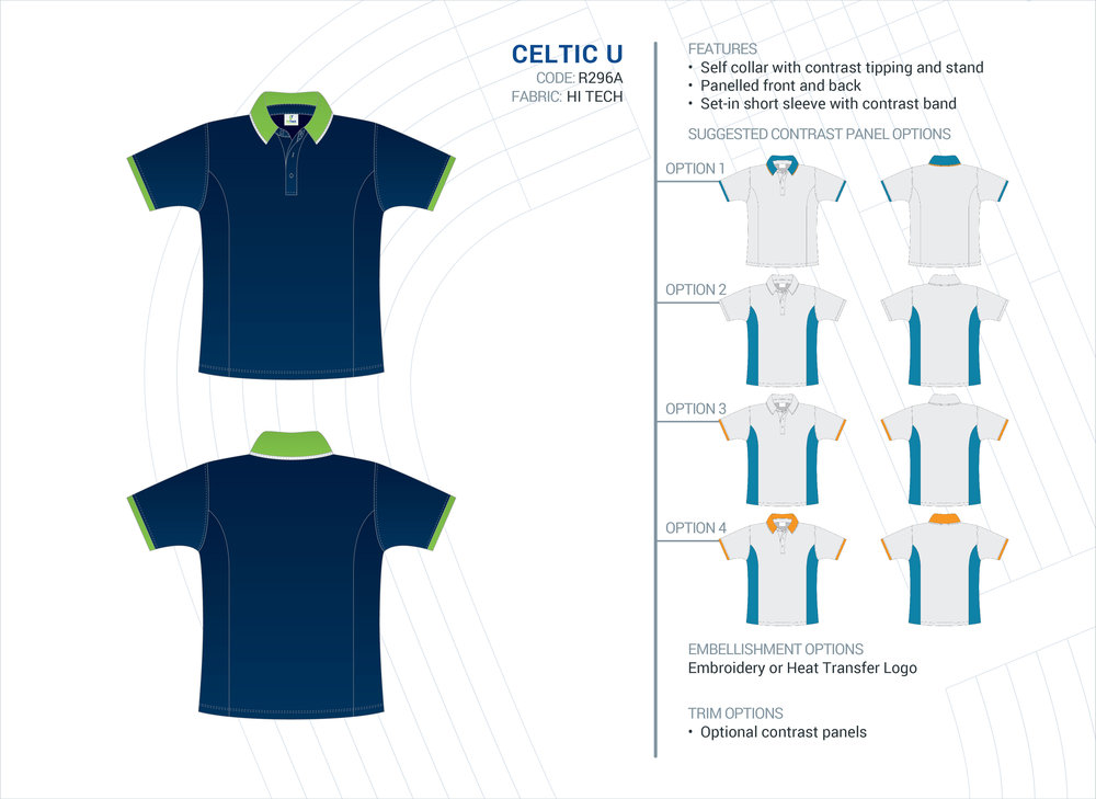 Unisex Celtic Hi-Tech Polo