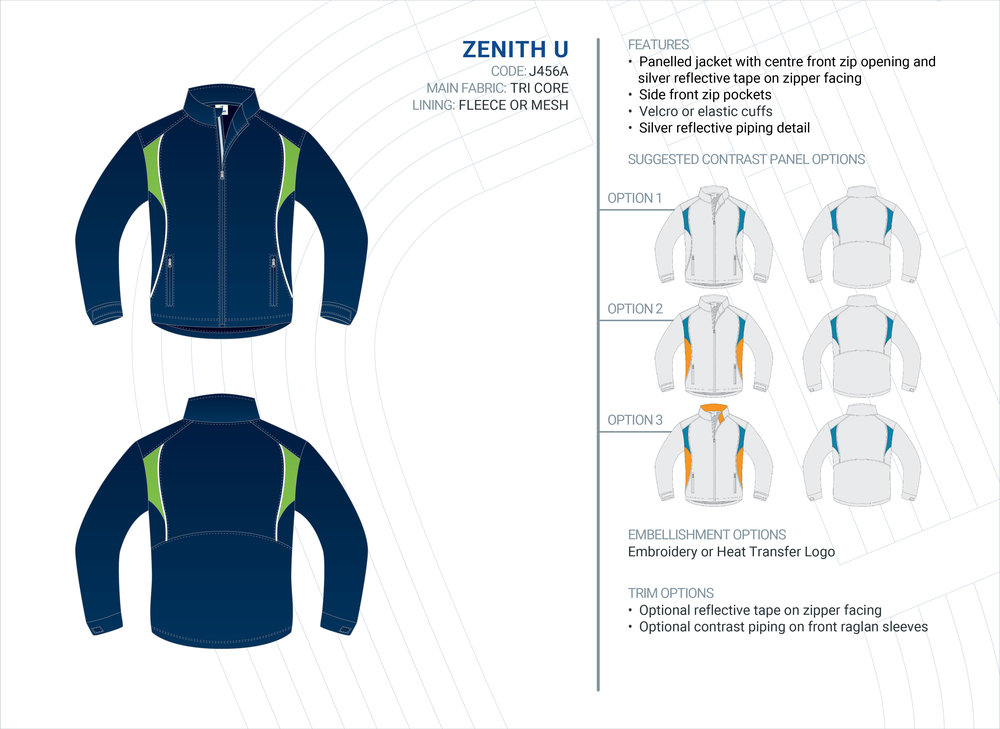 Unisex  Zenith  Tri-Core Jacket