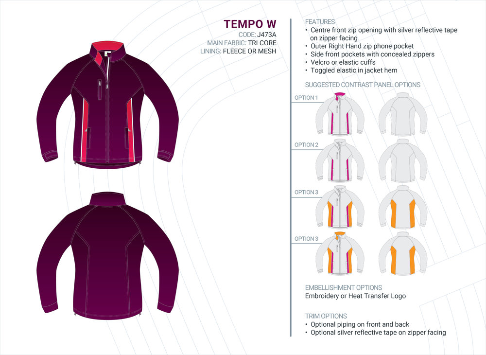 Women's  Tempo  Tri-Core Jacket