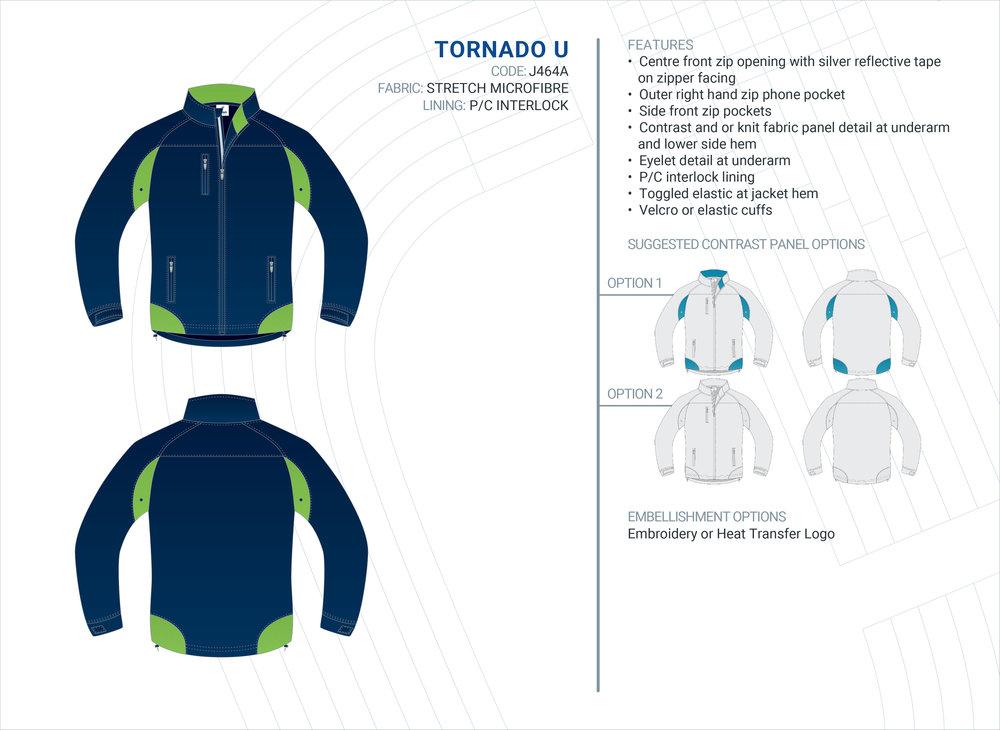 Unisex  Tornado  Stretch Microfibre Jacket