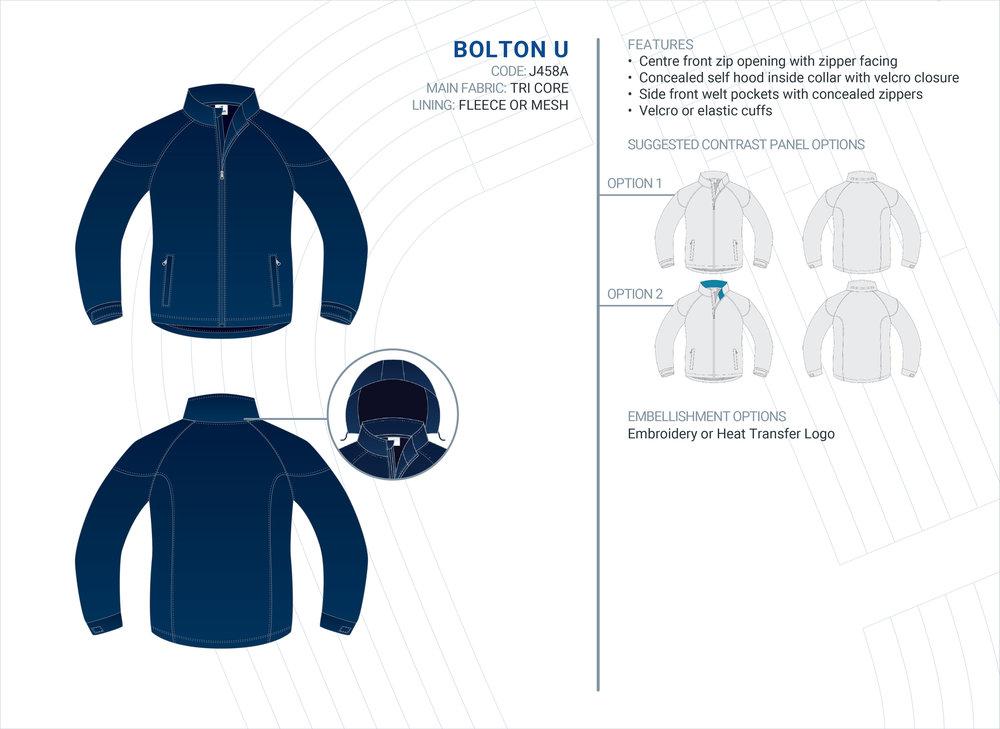Unisex  Bolton  Tri-Core Jacket