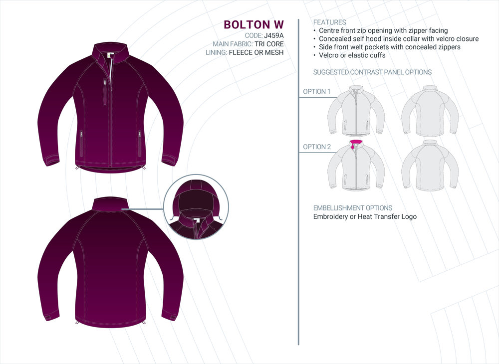 Women's  Bolton  Tri-Core Jacket