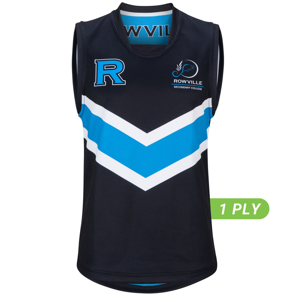 1 PLY Reversible AFL Top