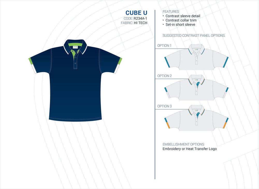 Unisex  Cube  ELC Polo