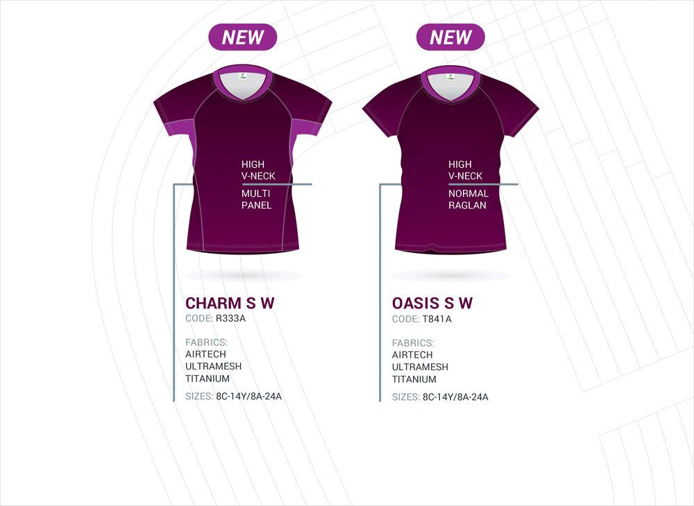 Women's Raglan Sleeve Tops - NEW!