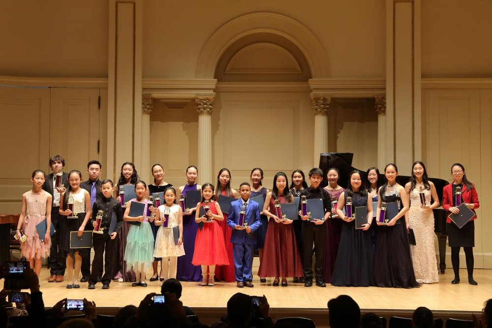 2018 National Young Musicians Showcase Competition Grand Winners