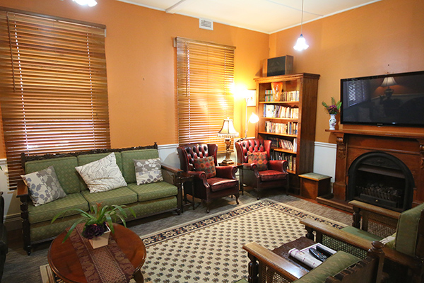Inside Seaview Guest House
