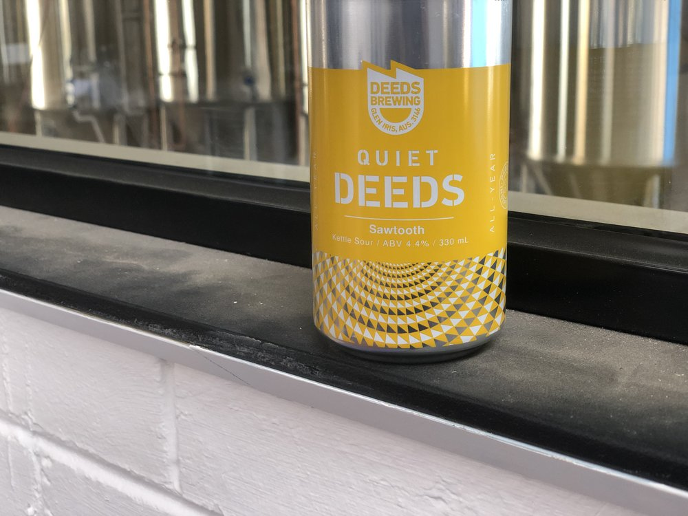 Quiet Deeds Sawtooth Pineapple Kettle Sour