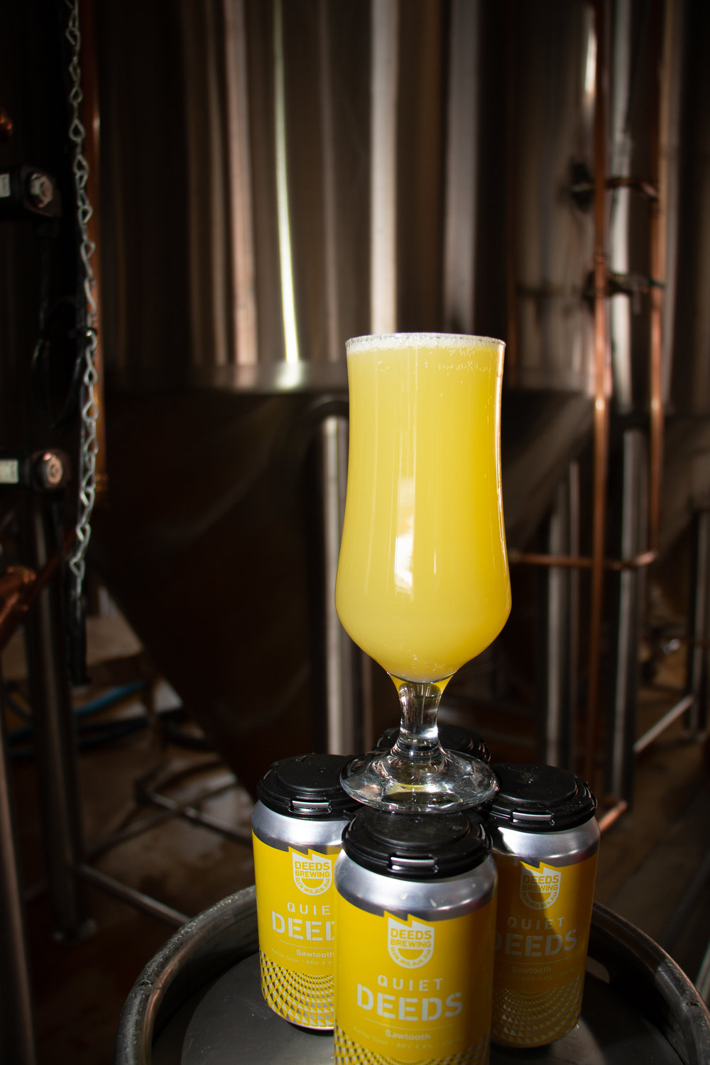Sawtooth Sour brewed with Motueka and Azacca hops and full of pineapple.