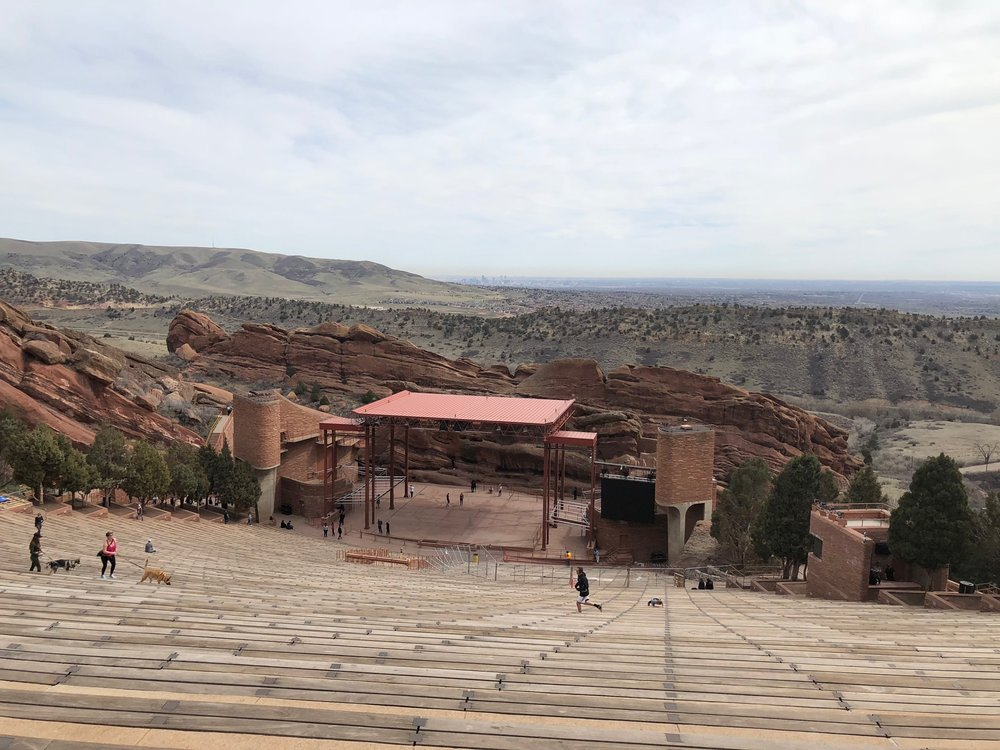 Having never been to Red Rocks itself, it was wonderful to get a chance to see the venue it all its glory. I can only hope to catch a show there at some stage!