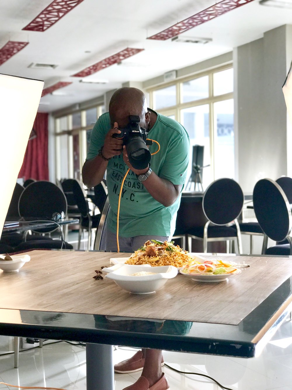 Former Chef|Food Photographer -