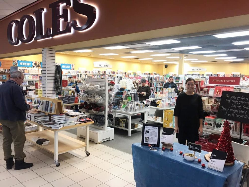 Book Signing atColes in Pembroke - 104.9 MyFMDecember 15th, 2018